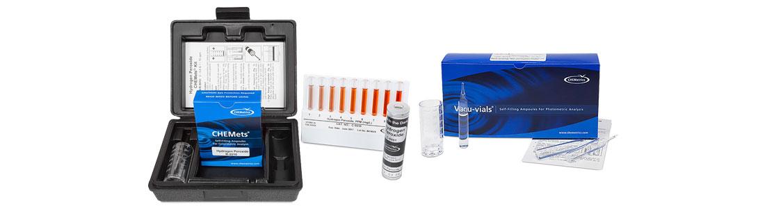 Hydrogen Peroxide Test Kits