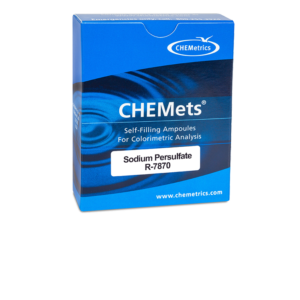 R-7870 Persulfate CHEMets® Visual Refill Packaging