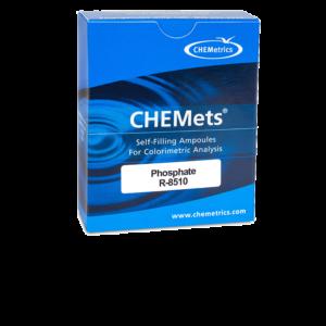 R-8510 Phosphate, ortho CHEMets® Visual Refill Packaging