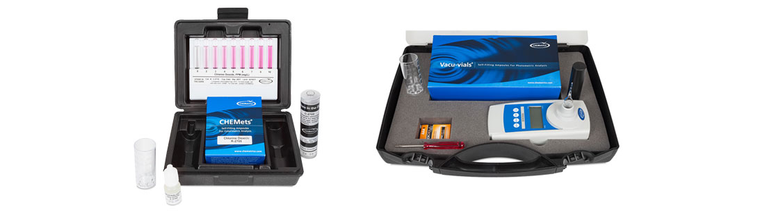 Chlorine Dioxide Water Test Kits